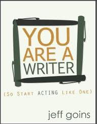 You Are a Writer by Jeff Goins book cover