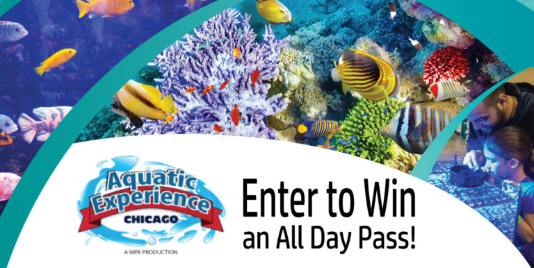 WIN 6 Tickets ($48 value) To Aquatic Experience-Chicago 11/3-5