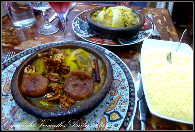 Tajine Chez Tiouiche Versailles Moroccan restaurant