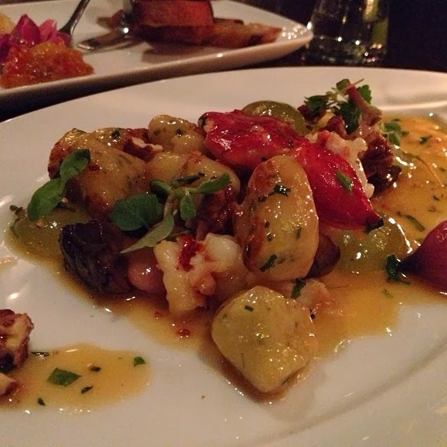 Boston Food Blog Lobster Gnocchi Deuxave Back Bay