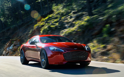Aston Martin Rapide S adds an extra consonant worth 550 hp