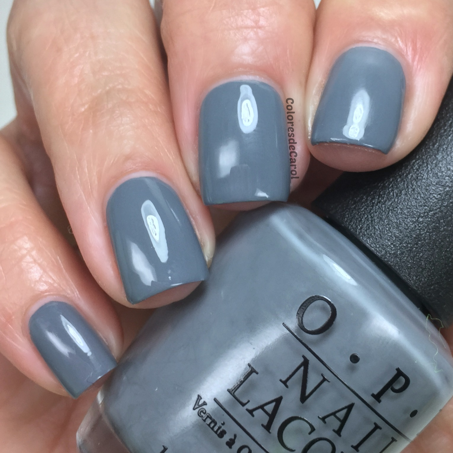 Colores De Carol: OPI 50 Shades Of Grey, Swatches, Review