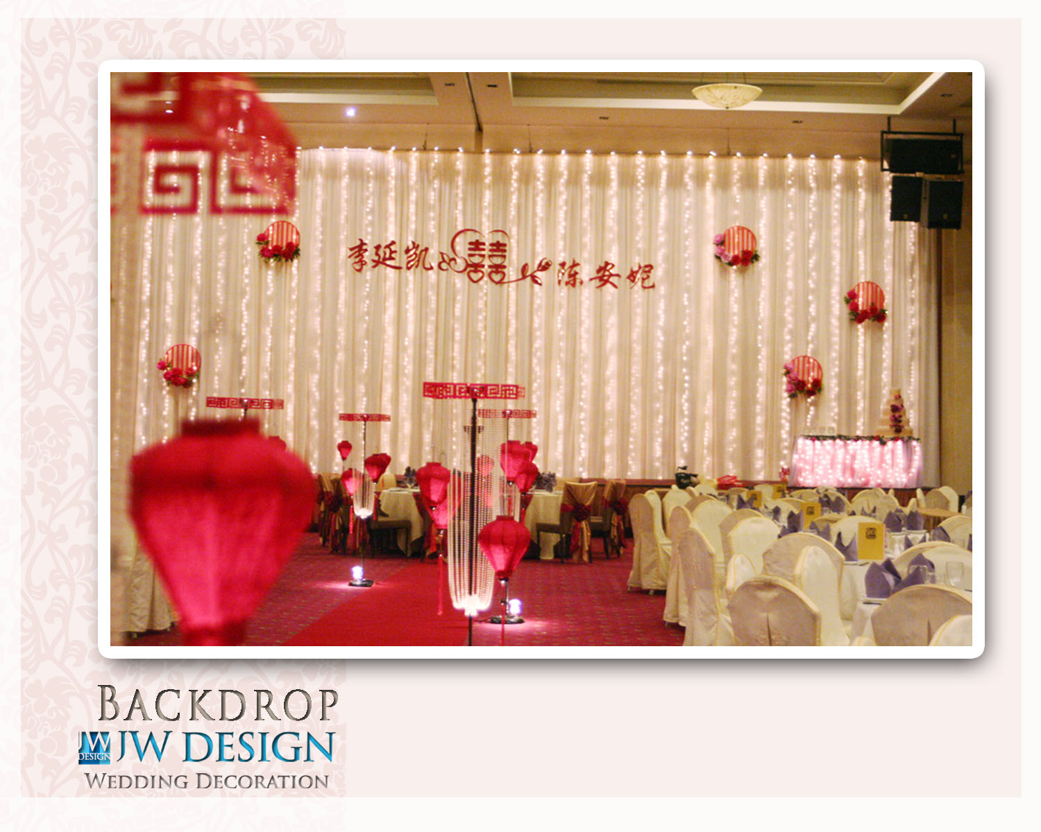 Jw design wedding decoration oriental theme wedding klang kai ann nees wedding klang centro ballroom junglespirit Gallery