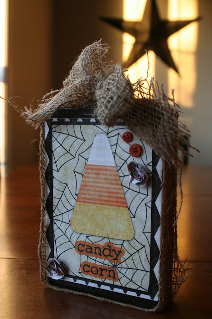 Candy Corn Sign