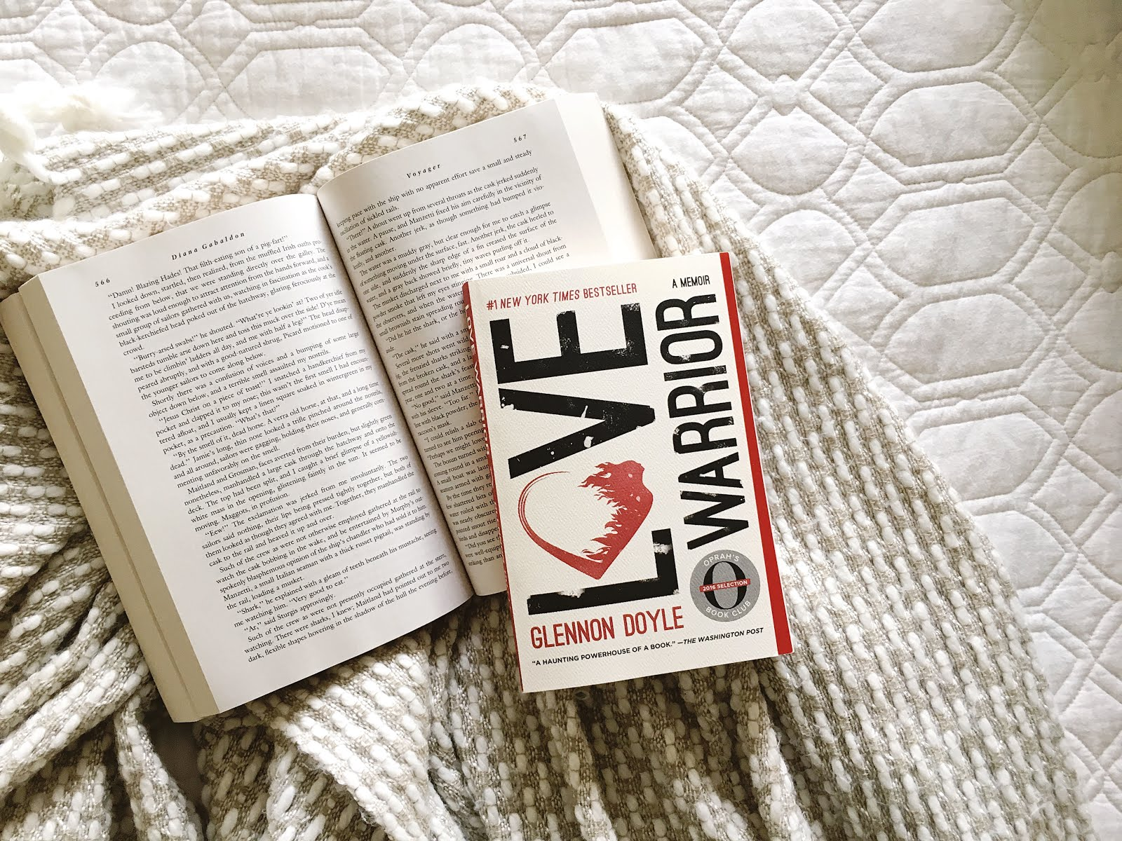 BookSparks Fall Reading Challenge Love Warrior By Glennon Doyle