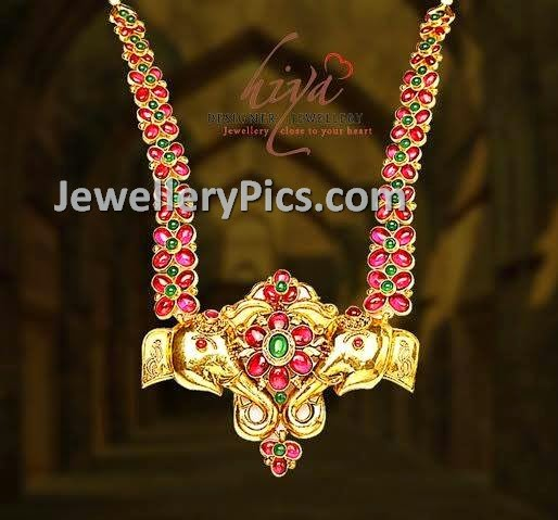 ruby haram with designer pendent