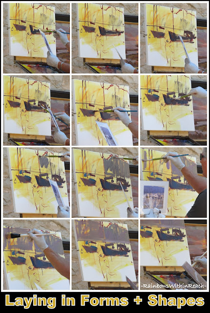 photo of: Master Class Oil Painting: Laying in forms and Shapes