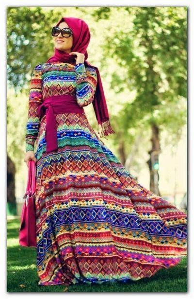 Mode hijab joli et chic