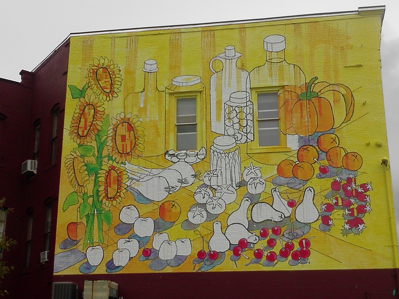 New Mural Goes Up in Rutland Vermont - Part 2   VT Contemplative Art ...