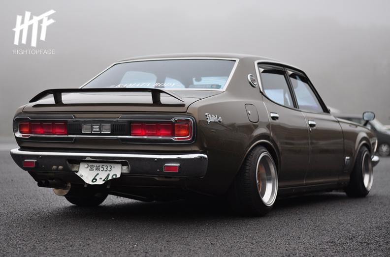 Nissan Bluebird-U 610  stary japoński samochód, klasyk, oldschool, 日本車, クラシックカー