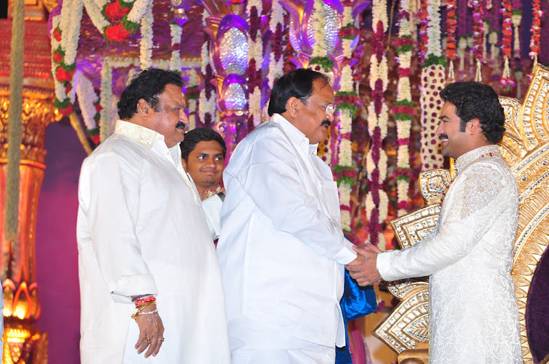 Celebrities  Jr NTR  Pranathi s Marriage film pics
