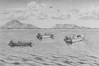 Dibujos Realistas de Bodegones y Paisajes