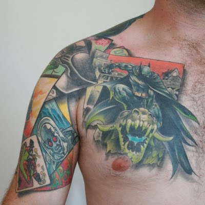 3D Batman Tattoos