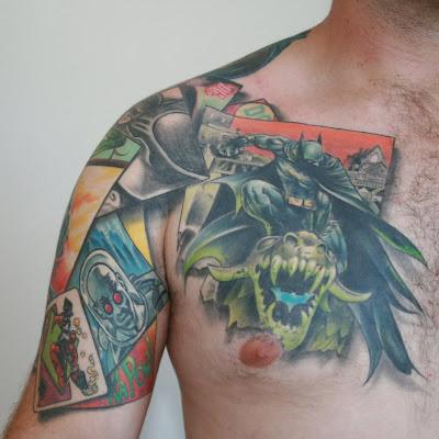 3D Batman Tattoos