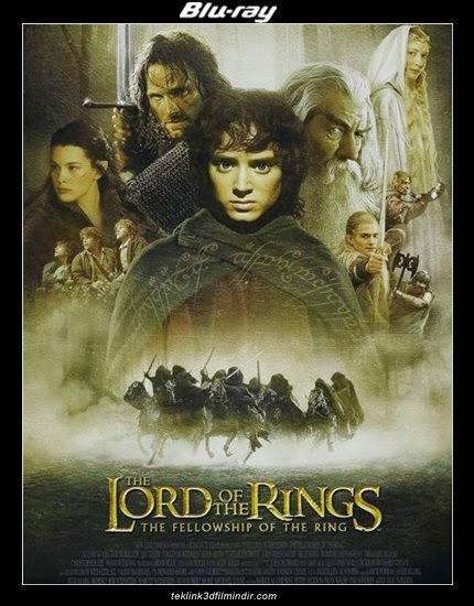 The Lord of the Rings: The Fellowship of the Ring - Yüzüklerin Efendisi: Yüzük Kardeşliği poster