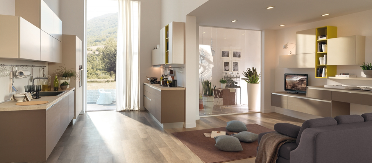 L 39 isola dei sogni cucine - Cucine in legno chiaro ...