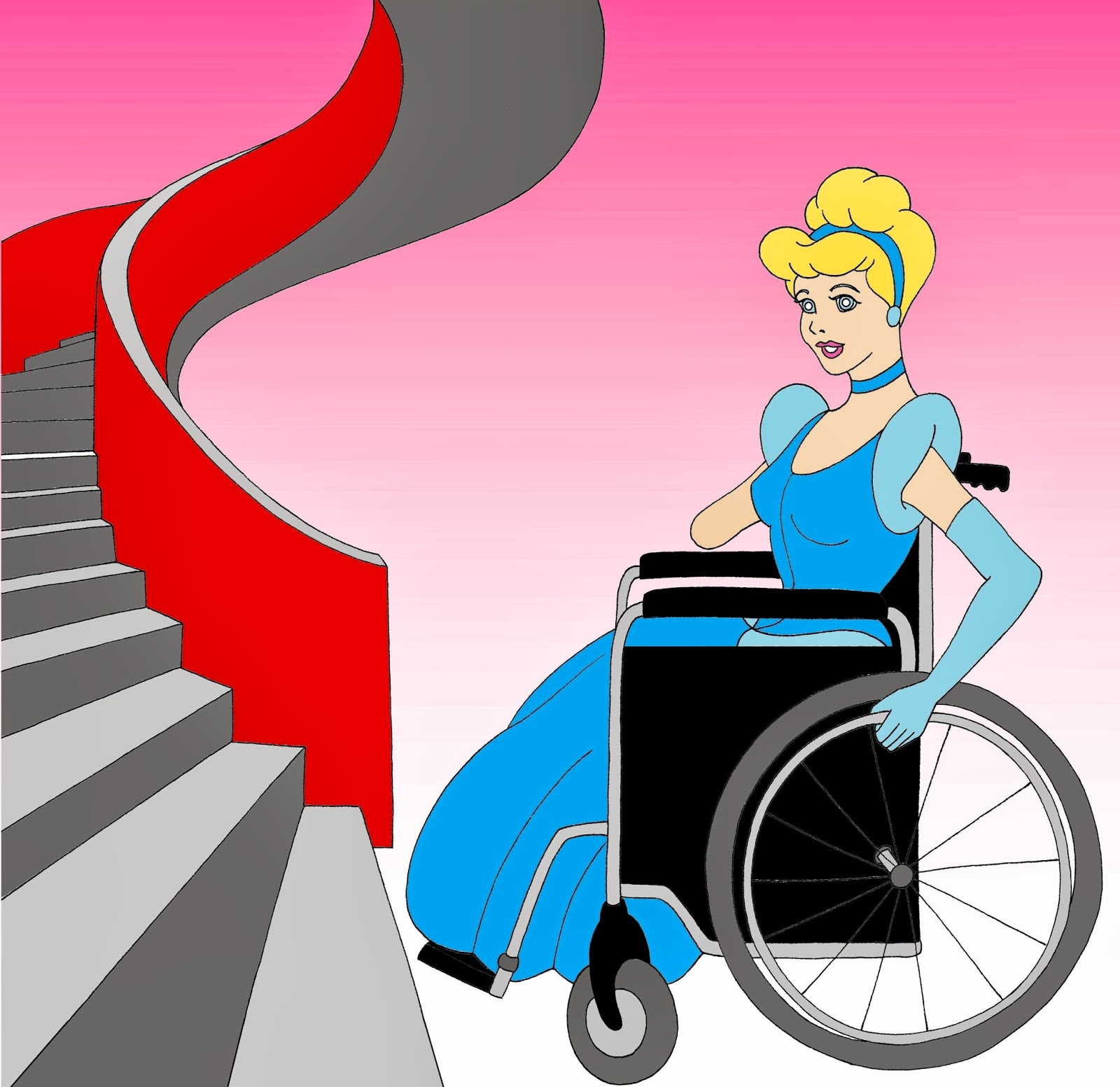 Humor Chic Humor Chic Equal Rights Disabled Disney