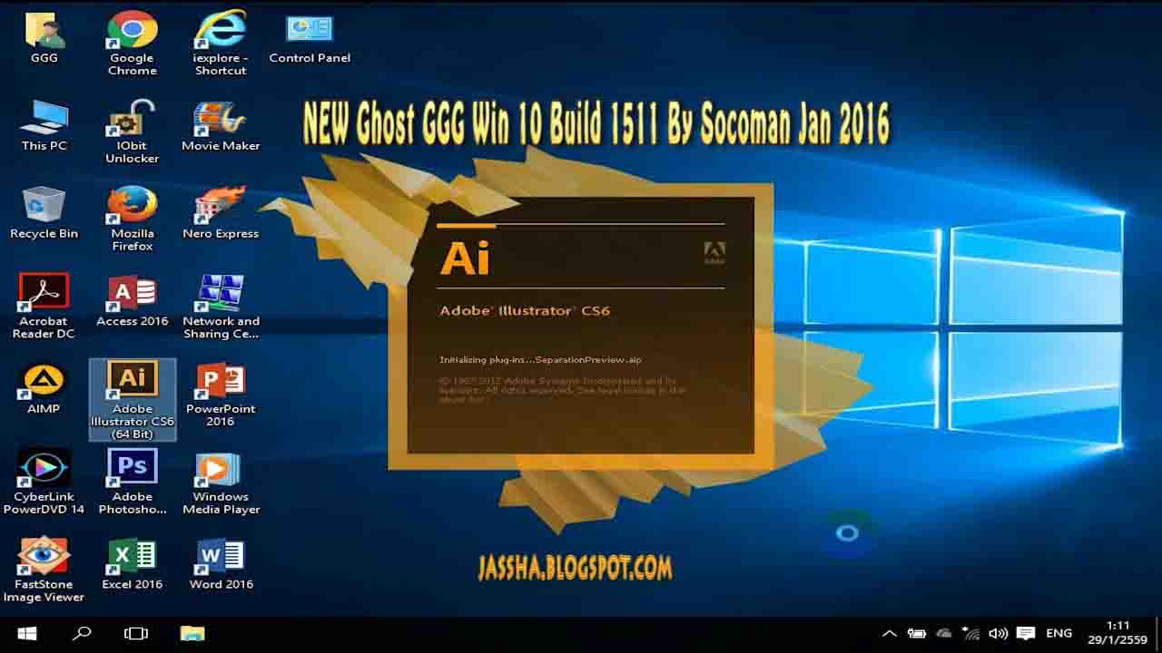 NEW Ghost GGG Win 10 Build 1511 x 64 Bit By Socoman Jan ...