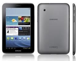 Samsung Galaxy Tab2 7.0 - Tablet ini memiliki ukuran lumayan tipis yakni 10.5 mm dengan berat 344 gram dan ukuran layar 7 inchi dengan resolusi 600 x 1024 pixel. Seperti tablet Samsung pada umumnya, di Galaxy Tab 2 7.0 telah dibenamkan teknologi PLS LCD kapasitif touchscreen  dengan kedalaman warna mencapai 16 juta sehingga tampilan warnanya cukup tajam. Selain itu sudah bisa menerima respon sentuhan multitouch dan menggunakan user interface terbaru TouchWiz UX UI.