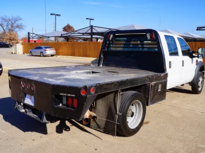 For sale Flatbed 2008 FORD SUPER DUTY F450 DRW 2WD CREW CAB 176 WB 60