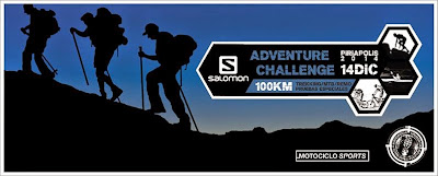 Aventura. Salomon Adventure Challenge Piriápolis (14/dic/2014)