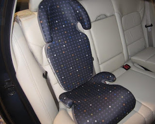 CelloMom on Cars: Narrow Booster Seat