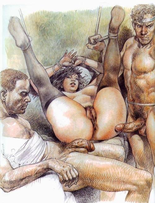 арт порно фото комикс