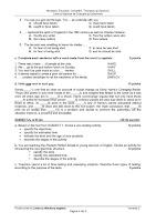 Subiecte Limba si Literatura Engleza - titularizare iulie 2011