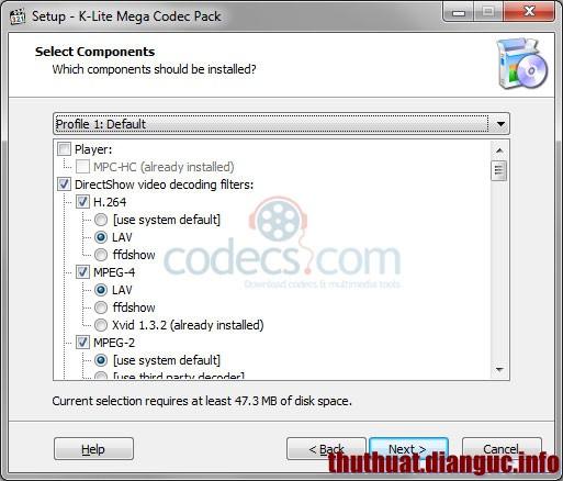 Download K-Lite Codec Pack 11.3.7 Full – Phần mềm xem phim HD