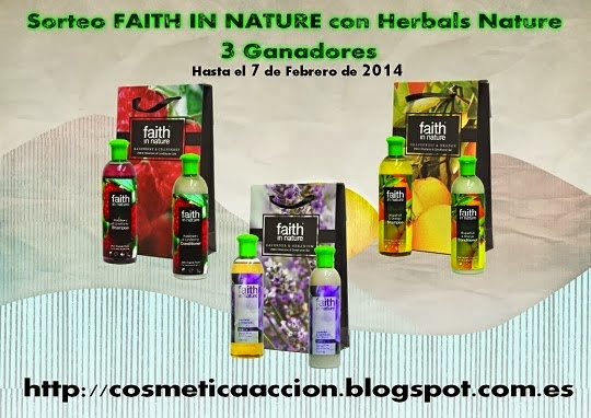 Sorteo Faith in Nature