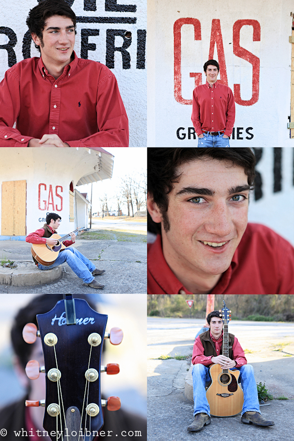 senior, portraits, whitney loibner photography, guitar