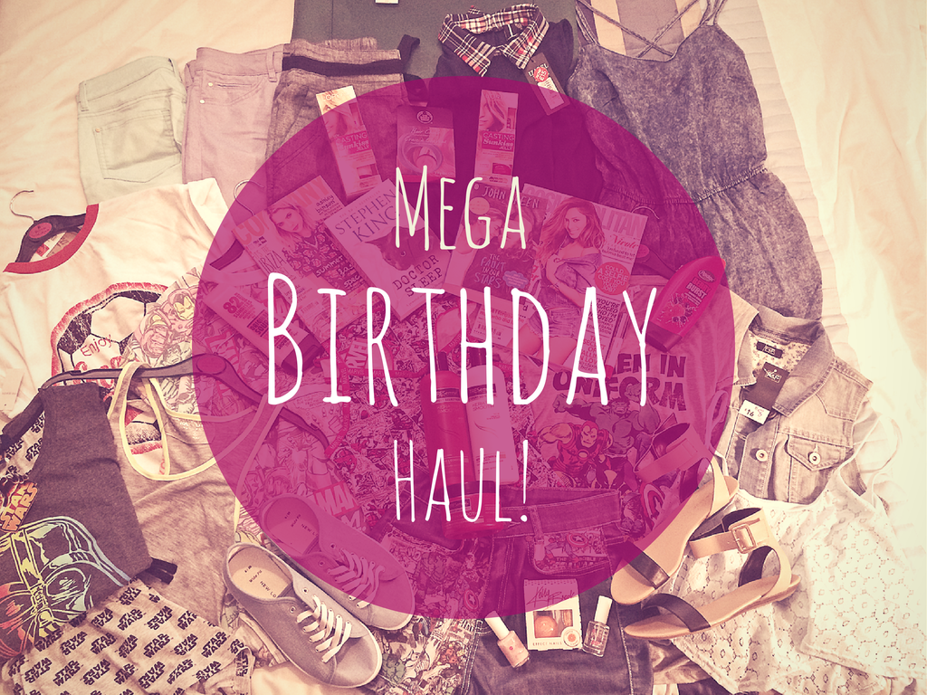 Dinos Beauty Diary - Mega Birthday Haul