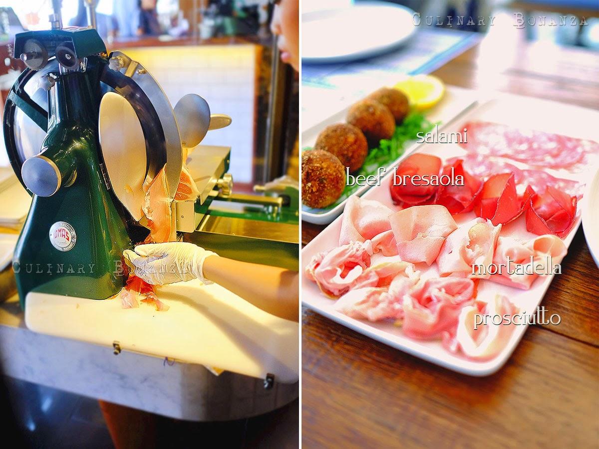 Mortadella, Salami, Prosciutto & Beef Bresaola