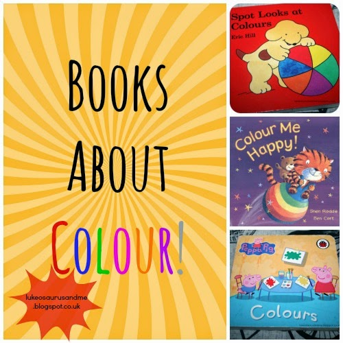 Books About Colour // 3 Top Books We Have Been Using To Learn About Colour // www.lukeosaurusandme.blogspot.co.uk