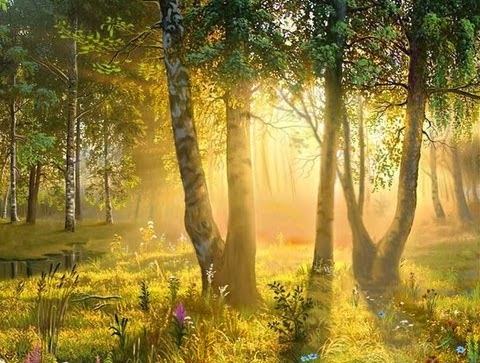 Деревья в культуре древних славян