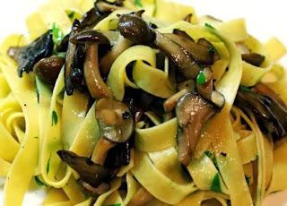 Tagliatelle of Mushroom Recipe