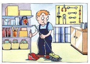 Riesgos en el trabajo salud ocupacional orden y aseo for Empleo limpieza oficinas
