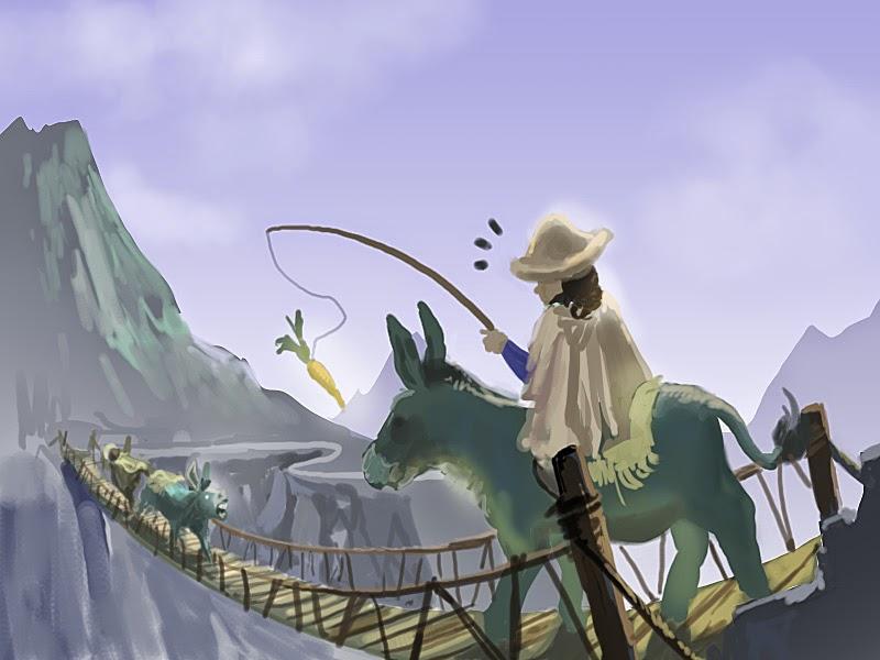 DSG 1679: Jealous Donkey