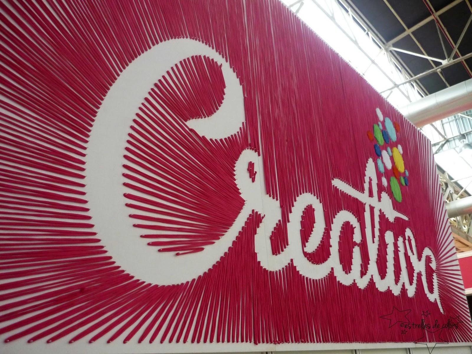 Estrelles de colors.: Crónica de mi visita a la feria Creativa ...