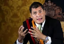Esto es la izquierda : ENTREVISTA RAFAEL CORREA , PRESIDENTE DEL ECUADOR