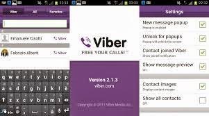 صورة توضح استخدامات viber