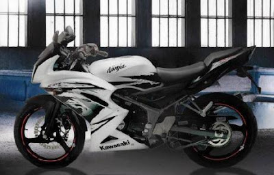 kawasaki ninja 2012, ninja rr 150 facelift 2012
