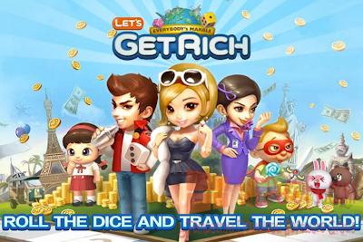 Download Line Let's Get Rich v1.0.4 APK Terbaru