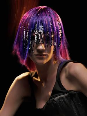 бисер в волосах Benny Lau Hair Culture team