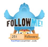 4 Adet Twitter Takipçileri Sayıcı ve Düğmeleri