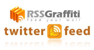 Perbedaan RSSGraffiti dan Twitterfeed
