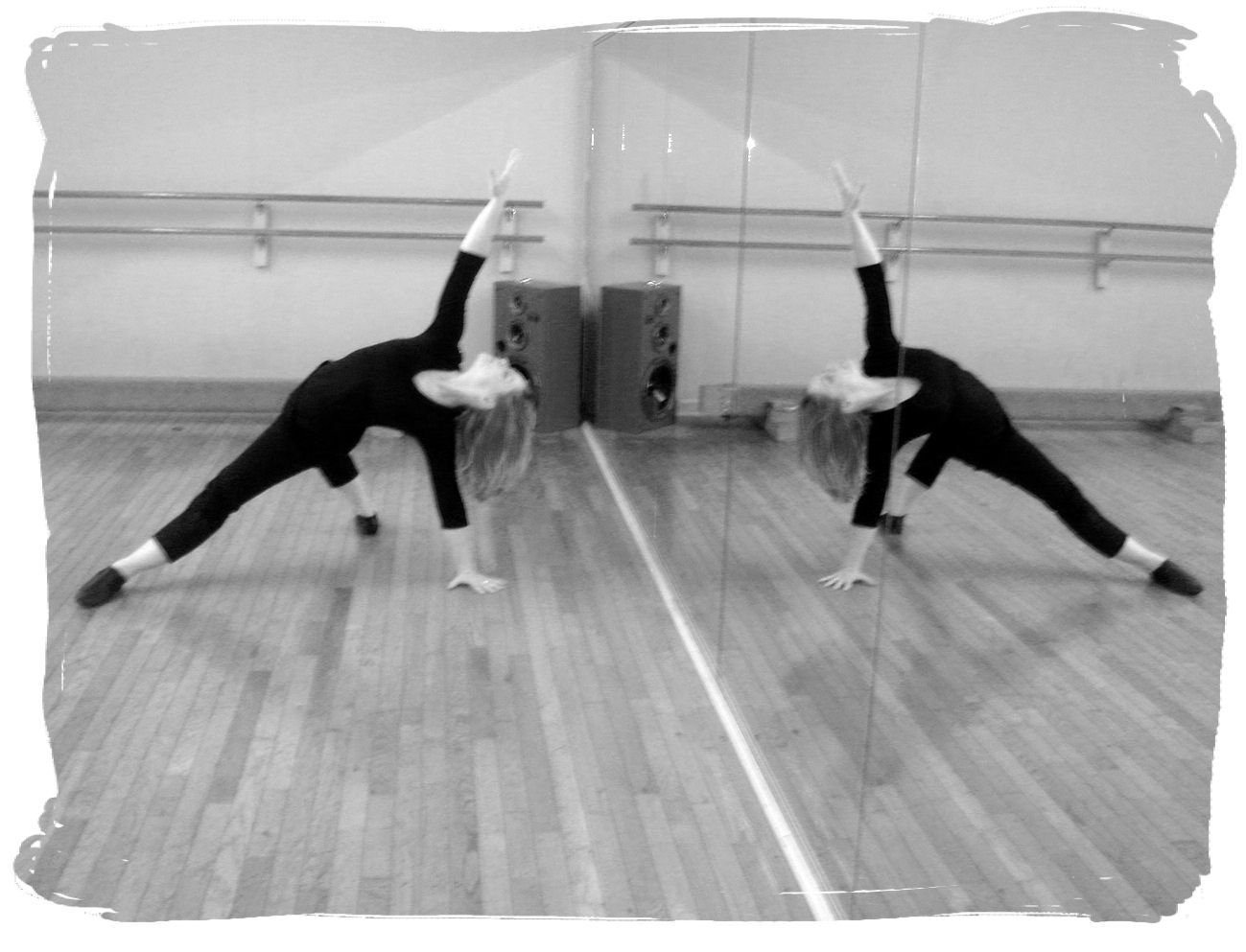 Dancing with the feet is one thing but dancing with the for Dance mirrors