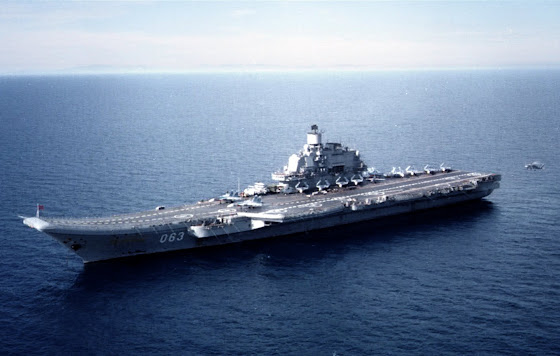 Admiral Kuznetsov CV