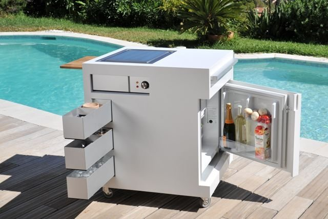 Move Kitchen Compact Mobile Outdoor Design