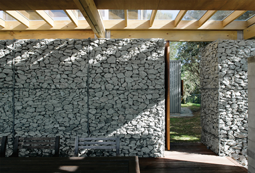 Design 5 other gabion houses Gabion wall design